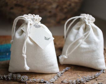 Duo of lavender sachets