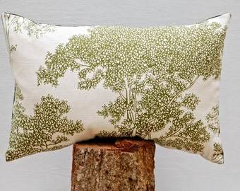 Green Tree Pillow