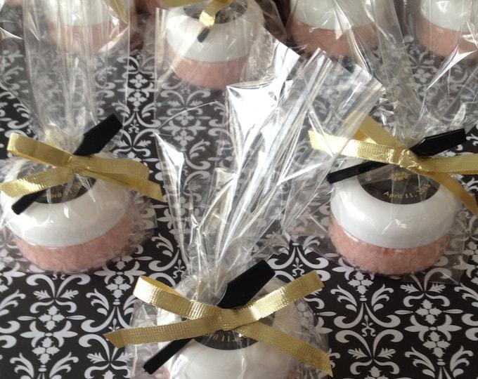 20 Personalized Sea Salt Scrub 2oz Bridal/Baby Shower Favors