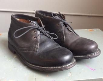 Men's Timerland Chukka Boot Sized 10 Black Leather
