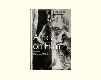 Africa on Film, Beyond Black and White - Depictions of Africans in English and American Movies Film Studies, Vintage 1994 Book x-library