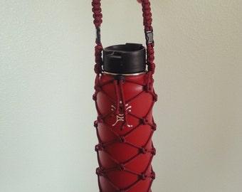 40 oz Handmade Hydro Flask Holder (holder only, bottle not included)