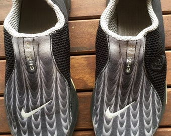 Nike sneakers Air Presto Chanjo, unisex sport shoes, vintage, size 39/40, US 7.5/8, gray and black, sport shoes, collection