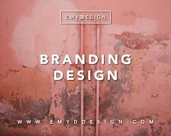 Custom Branding Design ||  Logo, Brand Logo, Branding Package, Branding Design || EMYDDESIGN