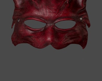 Leather Mask | Leather Lynx