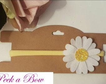 Penny blossom baby headband