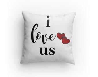 Pillow - I love us