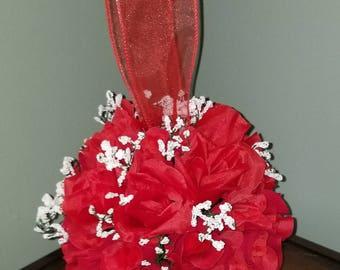 Red Rose Pomemander Ball Custom Made