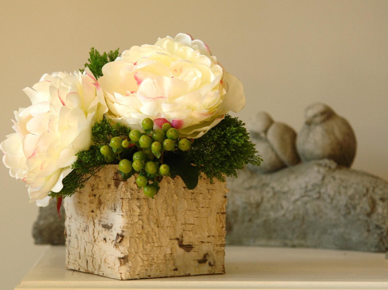 Birch bark wood vases square wedding flower pot planter description birch bark vases reviewsmspy