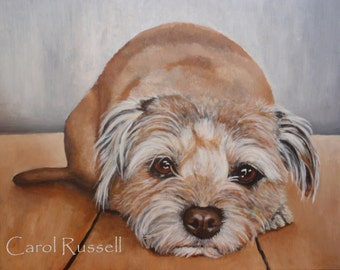 "Custom Painting of YOUR pet 16""x20"""