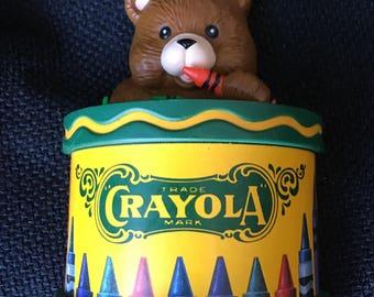 1992 Crayola Binney and Smith Hallmark ornament
