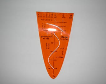 Standardgraph Stencil No 8188 Parabolic Function Curve- New old stock