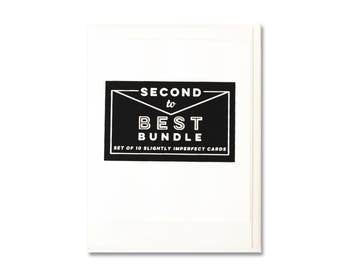 Seconds Bundle - 10 Assorted Cards