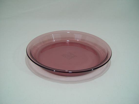 Pyrex Cranberry Glass Pie Plate Pie Pan 9 Inch Pie Pan #209 from GandTVintage on Etsy Studio & Pyrex Cranberry Glass Pie Plate Pie Pan 9 Inch Pie Pan #209 from ...