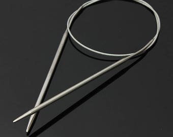 Circular needle 8.0 mm aluminum