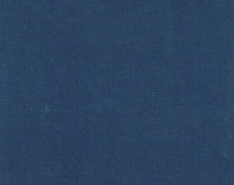 Organic Blue Fabric - Little Things Organic by Arrin Turnmire from Moda 17 Inches