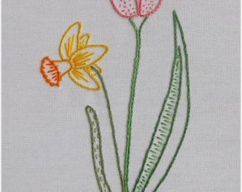 Freestyle embroidery - Spring Flowers (I)
