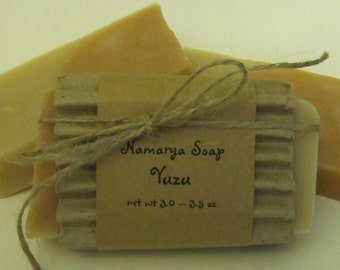 Yuzu Cold Process Soap