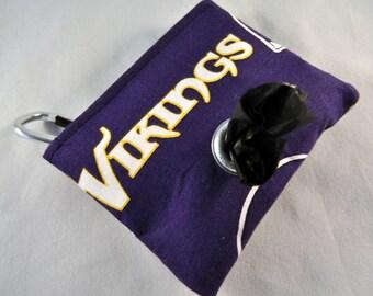 Vikings Poop Bag Pouch