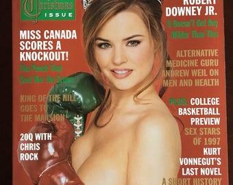 Playboy Magazine form December1997.