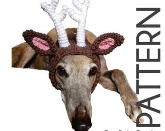 CROCHET PATTERN - Deer Antler Snood - Instant Download