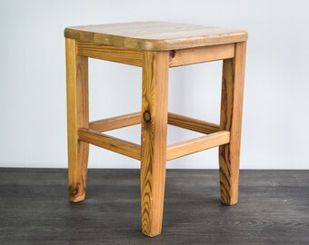 Wood bench. Wood stool. Handmade stool. wooden bench. Rustic wooden stool. Garden bench. Kid stool. Small wooden stool. Small wood bench.