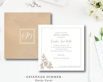 Savannah Summer Invitations