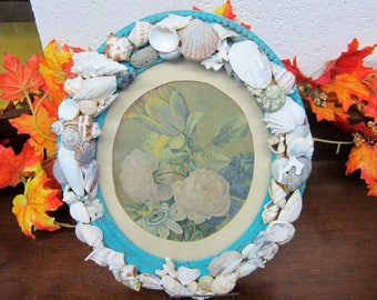 Antique Frame with Shells