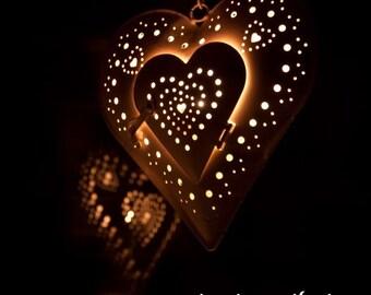 Valentines Heart 12x12 fine print