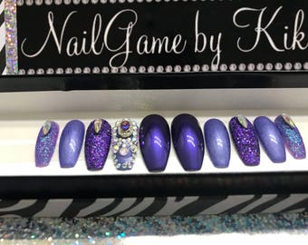Dem blinged out Purples!