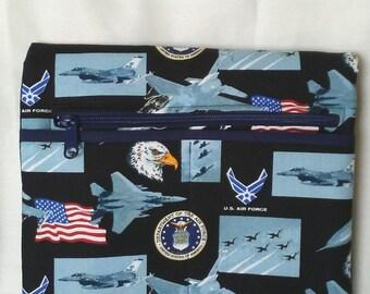 US Air Force Wheelchair Small Armrest Bag