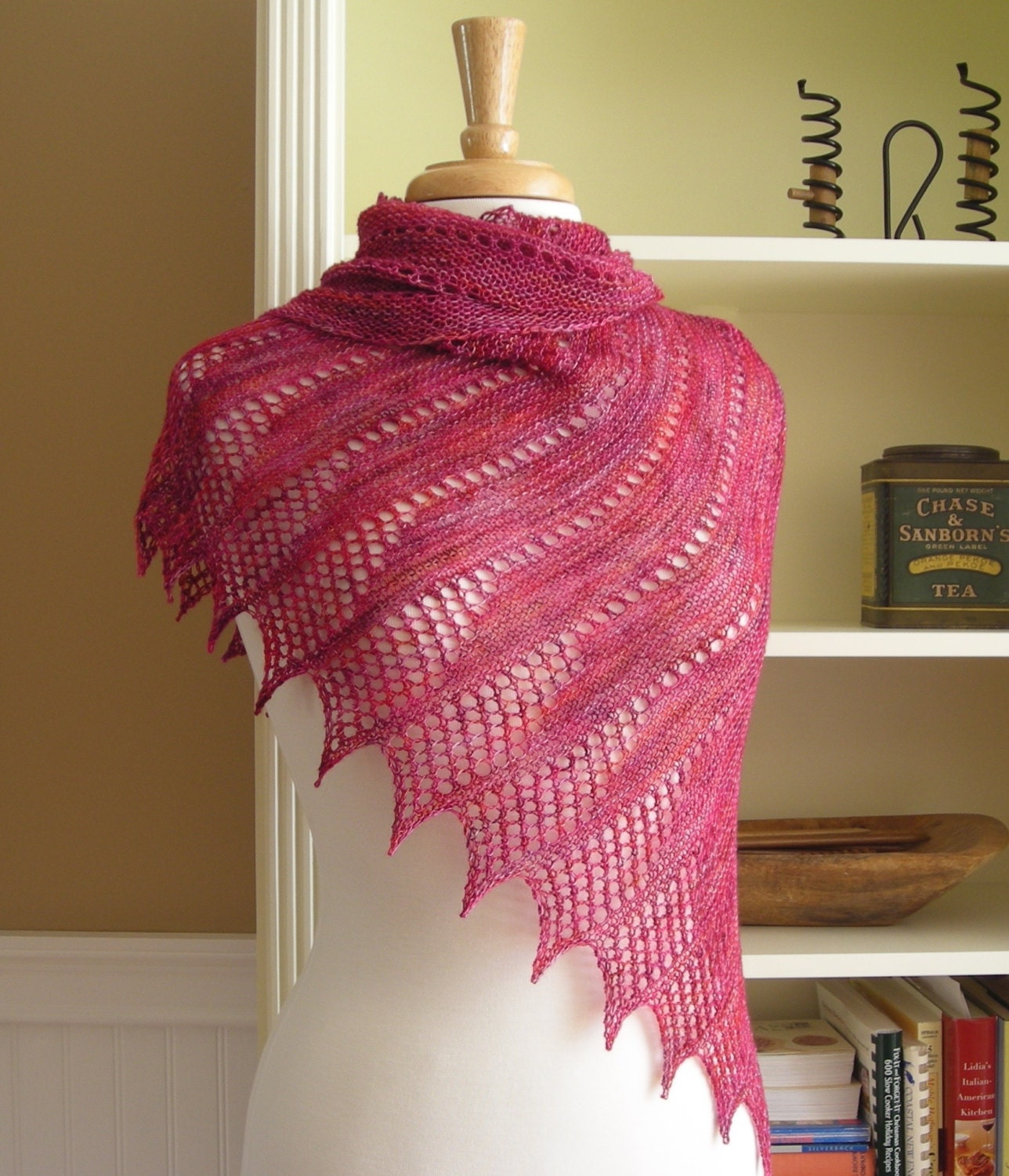 Lace shawl knitting pattern pdf mistral shawl asymetric zoom bankloansurffo Image collections
