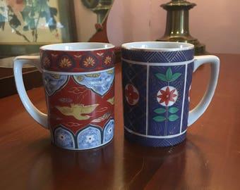 Pair of Vintage Mugs