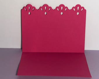 Scalloped Stationery (Set of 6)