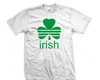Irish Shamrock T-Shirt (ADIDAS Parody)