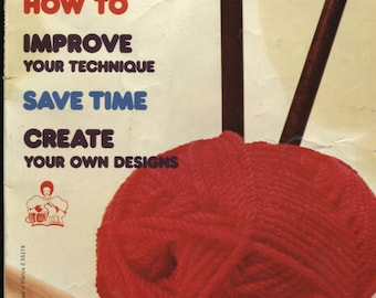 Mon Tricot Special, Mon Tricot Knit and Crochet , The Knitters' Basic Book Vol1