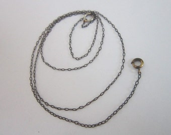 Antique 14K Gold Filled Ladies Chain Necklace Delicate