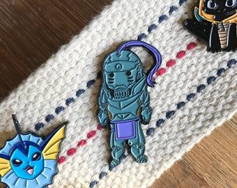 Alphonse Fullmetal Alchemist Enamel Pin - Soft Enamel Hat Pin
