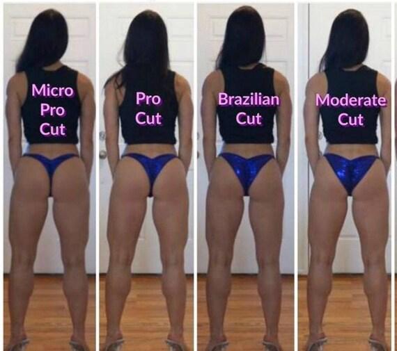 Wettkampf-Bikini Schnitt