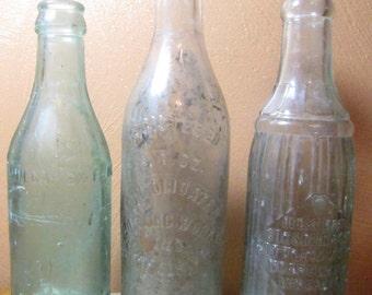 Vintage Soda Bottles From Norfolk, Virginia