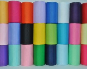 1.5 inch x 50 yds grosgrain ribbon -Lt Pink