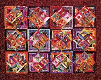 Bouillabaise 76″ X 96″ Our NUMBER 1 Selling Quilt Pattern.