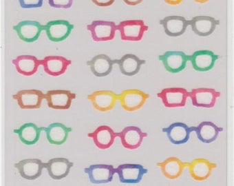 Glasses Stickers - Masking Seal - Mind Wave - Reference A4010