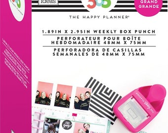 Me and My Big Ideas - The Happy Planner - BIG Weekly Box Punch