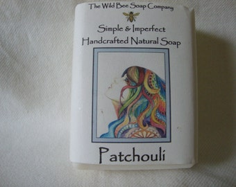 Patchouli Soap, Handcrafted Soap, Natural Soap, Soap, Cold Process Soap, Patchouli, Bar Soap, Soap, Cold Process Soap, Handmade, Easter Gift
