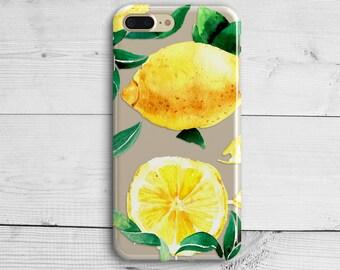 Citrons Livret De Conception Aquarelle Pour Samsung Galaxy S6 KQTAheRuad
