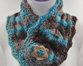 acrylic yarn in knitting and crochet snood
