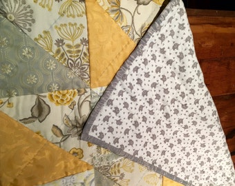 Hand-Quilted Baby Quilt