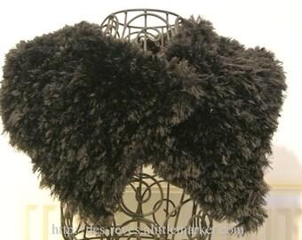 Scarf - fur collar