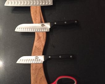 Wood Magnetic Knife Holder